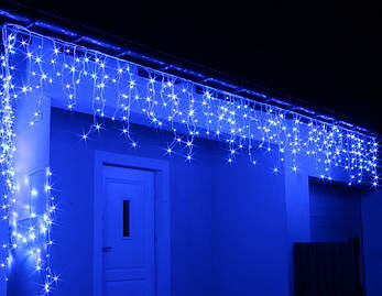 Новогодняя гирлянда Бахрома 500 LED, Голубой свет 24 м, фото 2