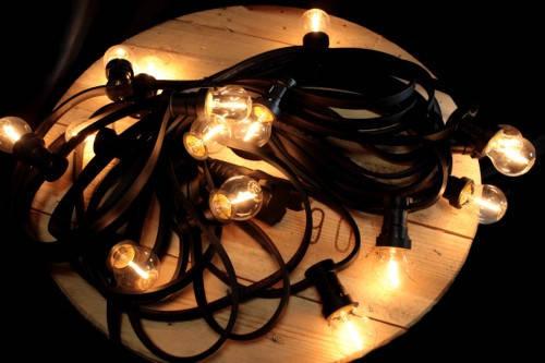 Гірлянда ретро 10 метрів 20 ламп, фото 2