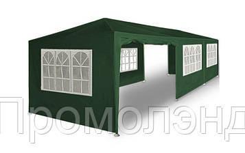 Садовый павильон 3 х 9 м Зеленый