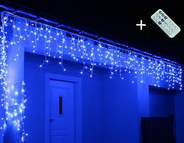 Новорічна гірлянда Бахрома 500 LED, Блакитний світло, 18 м, 22W, фото 2