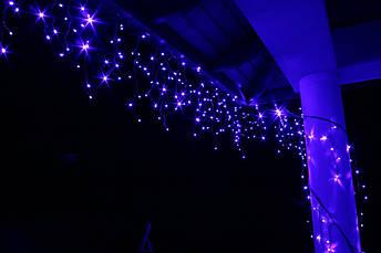 Новорічна гірлянда Бахрома 500 LED, Блакитний світло, 18 м, 22W, фото 3