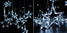 """Новорічна гірлянда """"Зірки бахрома"""" 170 LED, 3,2 Метра, фото 3"""