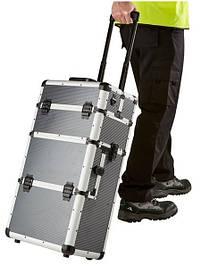 Алюмінієвий косметичний валізу 3в1