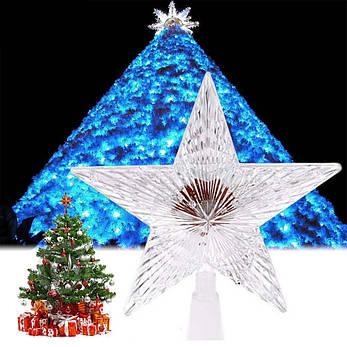 "Новогодняя гирлянда ""Звезда"" 10 LED, фото 2"