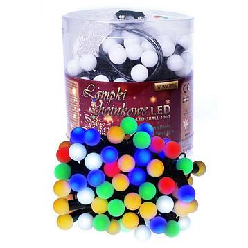 Новорічні кульки 100LED, Різнобарвний світ, фото 2