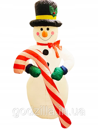 Надувной Снеговик 5м