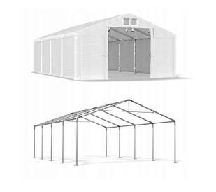 Тентовый гараж  ПВХ 560г/м  4 x 8m