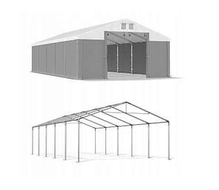 Тентовый гараж  ПВХ 560г/м  4 x 10m