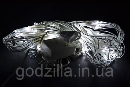 Гирлянда сеткам-занавес 180 LED 2,5 м