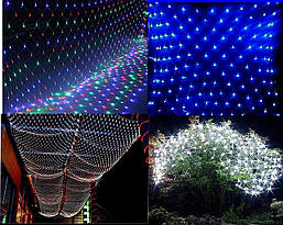 Гірлянда сітка 200 світлодіодів 2,5на2,5 м, фото 3
