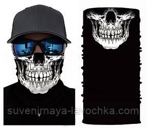 Мото баф Dead man's skull. Якісна маска на обличчя