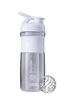 Спортивна пляшка-шейкер BlenderBottle SportMixer 28oz/820ml White (ORIGINAL) (AS)