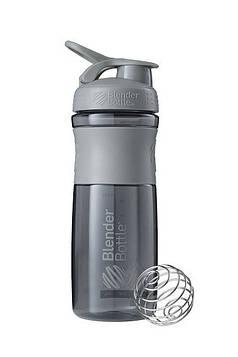 Спортивна пляшка-шейкер BlenderBottle SportMixer 28oz/820ml Grey (ORIGINAL) (AS)