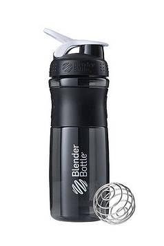 Спортивна пляшка-шейкер BlenderBottle SportMixer 28oz/820ml Black/White (ORIGINAL) (AS)