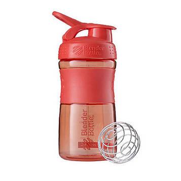 Спортивна пляшка-шейкер BlenderBottle SportMixer 20oz/590ml Coral (ORIGINAL) (AS)
