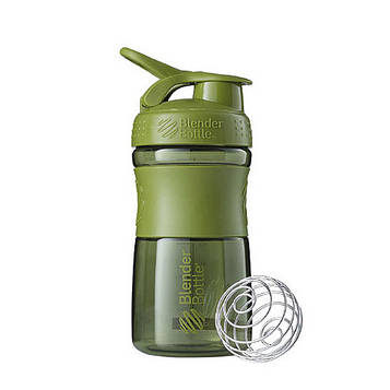 Спортивна пляшка-шейкер BlenderBottle SportMixer 20oz/590ml Moss Green (ORIGINAL) (AS)