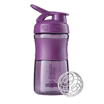 Спортивна пляшка-шейкер BlenderBottle SportMixer 20oz/590ml Plum (ORIGINAL) (AS)