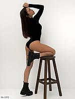 Красиве облягаюче жіночу боді-гольф з легкою приємною тканини р-и 42-44,44-46 арт 2001