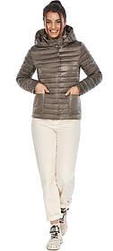 Коротка капучиновая куртка жіноча модель 67510