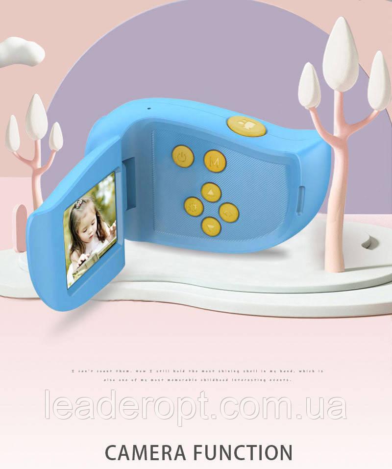 ОПТ Детский мини фотоаппарат - видеокамера Kids Camera с cmos-датчиком и встроенным микрофоном
