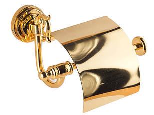 Тримач для туалетного паперу KUGU Versace 211G Золото (3350)