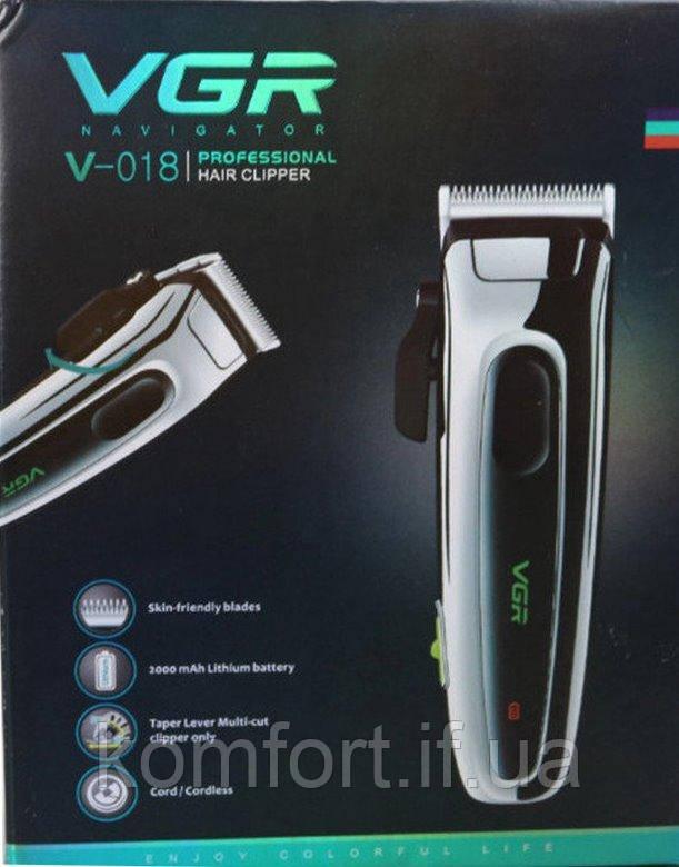 Машинка для стрижки волос VGR V-018