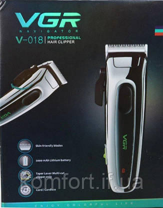 Машинка для стрижки волос VGR V-018, фото 2