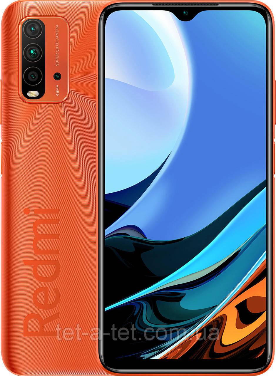 Смартфон Xiaomi Redmi 9T 4/128GB Sunrise Orange(UA UCRF)