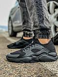Кросівки чоловічі 18401, Nike Air Huarache, чорні, [ 41 43 44 45 46 ] р. 41-27,0 див., фото 2