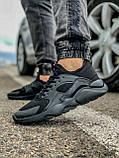 Кросівки чоловічі 18401, Nike Air Huarache, чорні, [ 41 43 44 45 46 ] р. 41-27,0 див., фото 3