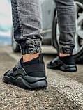 Кросівки чоловічі 18401, Nike Air Huarache, чорні, [ 41 43 44 45 46 ] р. 41-27,0 див., фото 4