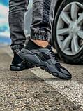 Кросівки чоловічі 18401, Nike Air Huarache, чорні, [ 41 43 44 45 46 ] р. 41-27,0 див., фото 6