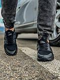 Кросівки чоловічі 18401, Nike Air Huarache, чорні, [ 41 43 44 45 46 ] р. 41-27,0 див., фото 7