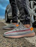 Кроссовки мужские 18411, Adidas Yeeze Boost 350, серые, [ 42 43 44 45 46 ] р. 42-27,0см., фото 2