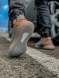 Кроссовки мужские 18411, Adidas Yeeze Boost 350, серые, [ 42 43 44 45 46 ] р. 42-27,0см., фото 5
