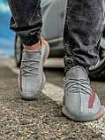 Кроссовки мужские 18411, Adidas Yeeze Boost 350, серые, [ 42 43 44 45 46 ] р. 42-27,0см., фото 7
