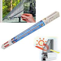 Відображає плівка для вікон, знижує температуру на 6-14°С, альтернатива кондиціонеру 0,7 м. х 8,0 м., фото 1