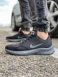 Кроссовки мужские 18471, Nike Zoom Winflo 8 (TOP), темно-серые [ 44 45 ] р.(43-28,0см), фото 3