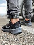 Кроссовки мужские 18471, Nike Zoom Winflo 8 (TOP), темно-серые [ 44 45 ] р.(43-28,0см), фото 4