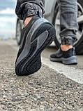 Кроссовки мужские 18471, Nike Zoom Winflo 8 (TOP), темно-серые [ 44 45 ] р.(43-28,0см), фото 5
