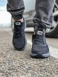 Кроссовки мужские 18471, Nike Zoom Winflo 8 (TOP), темно-серые [ 44 45 ] р.(43-28,0см), фото 7