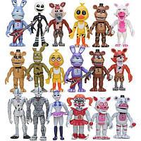 Набір фігурок Аніматроніки 18 персонажів П'ять ночей у Фредді, висота від 9 до 12 см - Five nights at freddy's