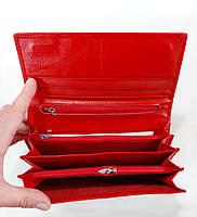 Женский кожаный кошелек Balisa D149 красный Кожаный женский кошелек Балиса закрывается на магнит, фото 3