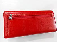 Женский кожаный кошелек Balisa D149 красный Кожаный женский кошелек Балиса закрывается на магнит, фото 4