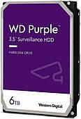 HDD SATA 6.0TB WD Purple 5400rpm 128MB (WD62PURZ)