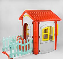 Игровой домик Pilsan Magic House  06-194 СЕРЫЙ С КРАСНЫМ