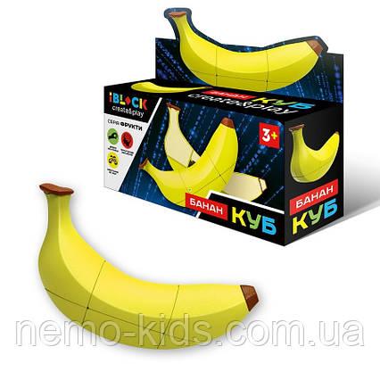 Кубик логика iblock Банан, головоломка, для развития
