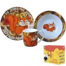 Детские наборы посуды (фарфор)