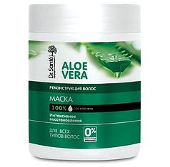 """Маска для волос реконструкция 1000 мл Dr.Sante """"Aloe Vera"""""""