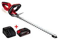 Кусторез аккумуляторный Einhell PXC GE-CH 1846 Li + Аккумулятор 2.5 А/час + Зарядное устройство